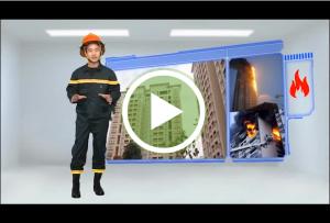 Clip: 8 kỹ năng thoát nạn khi cháy nhà cao tầng